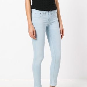 Rag and Bone Skinny Light Blue Jeans